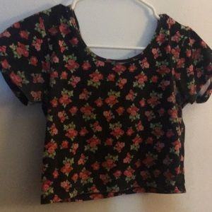 Crop top rarely used it